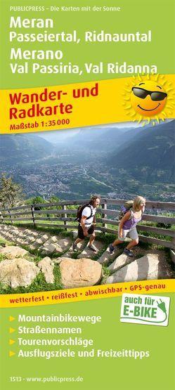 Meran, Passeiertal, Ridnauntal / Merano, Val Passiria, Val Ridanna