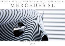Mercedes SL R230 – Ein Denkmal auf Rädern (Tischkalender 2019 DIN A5 quer) von Schürholz,  Peter