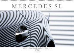 Mercedes SL R230 – Ein Denkmal auf Rädern (Wandkalender 2019 DIN A2 quer) von Schürholz,  Peter