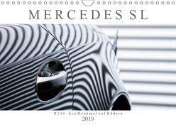 Mercedes SL R230 – Ein Denkmal auf Rädern (Wandkalender 2019 DIN A4 quer) von Schürholz,  Peter