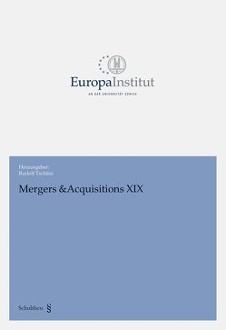 Mergers & Acquisitions XIX von Tschäni,  Rudolf
