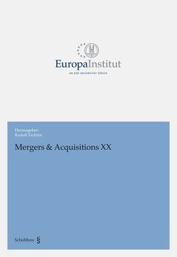 Mergers & Acquisitions XX von Tschäni,  Rudolf