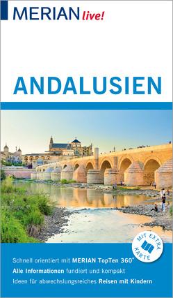 MERIAN live! Reiseführer Andalusien von Klöcker,  Harald
