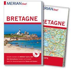 MERIAN live! Reiseführer Bretagne von Kuhn-Delestre,  Beate