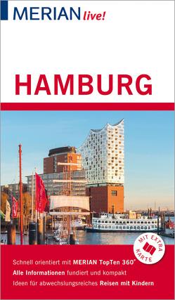 MERIAN live! Reiseführer Hamburg von Bohlmann-Modersohn,  Marina