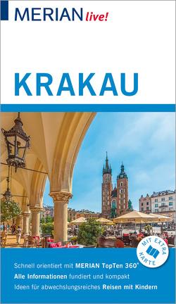 MERIAN live! Reiseführer Krakau von Gawin,  Izabella