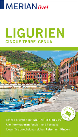 MERIAN live! Reiseführer Ligurien, Cinque Terre, Genua von Nestmeyer,  Ralf