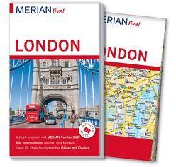 MERIAN live! Reiseführer London von Carstensen,  Heidede, Carstensen,  Sünje