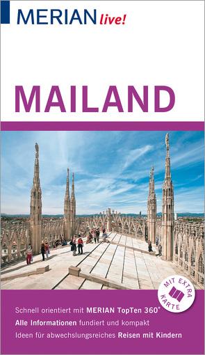 MERIAN live! Reiseführer Mailand von Kirchner,  Beate