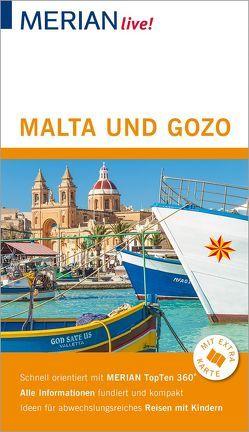 MERIAN live! Reiseführer Malta und Gozo von Bötig,  Klaus