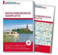 MERIAN live! Reiseführer Mecklenburgische Seenplatte von Sorges,  Jürgen