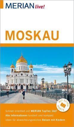 MERIAN live! Reiseführer Moskau von Gerberding,  Eva