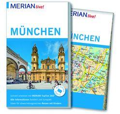 MERIAN live! Reiseführer München von Rübesamen,  Annette, Rübesamen,  Hans Eckart