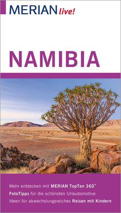 MERIAN live! Reiseführer Namibia von Wuttke,  Jan-Hendrik