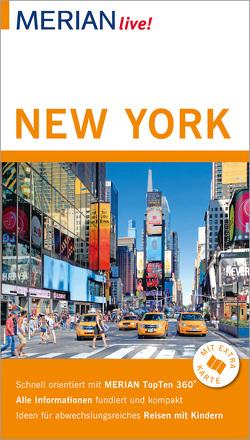 MERIAN live! Reiseführer New York von Uthmann,  Jörg von