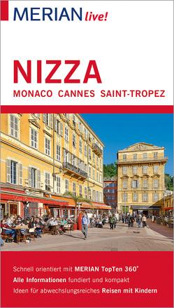 MERIAN live! Reiseführer Nizza Monaco Cannes Saint-Tropez von Buddée,  Gisela, Lutz,  Timo