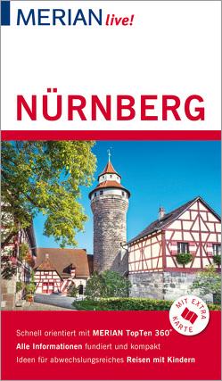 MERIAN live! Reiseführer Nürnberg von Nestmeyer,  Ralf