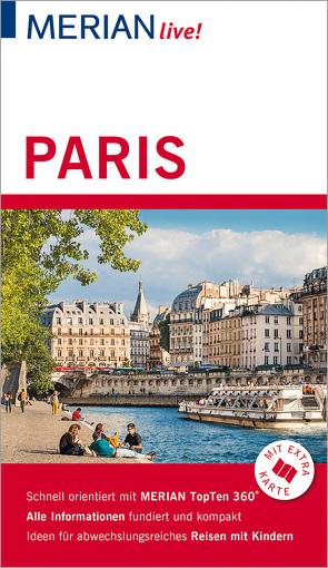 MERIAN live! Reiseführer Paris von Bohlmann-Modersohn,  Marina