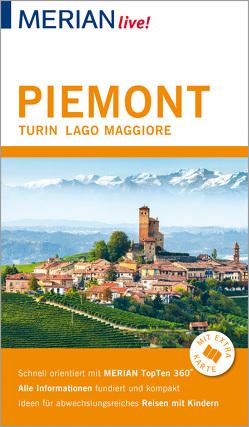 MERIAN live! Reiseführer Piemont Turin Lago Maggiore von Lutz,  Timo