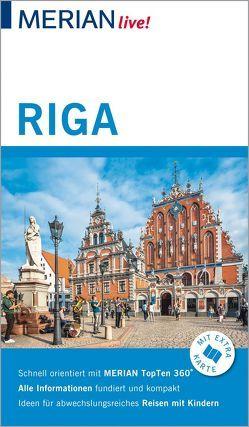 MERIAN live! Reiseführer Riga von Bauermeister,  Christiane