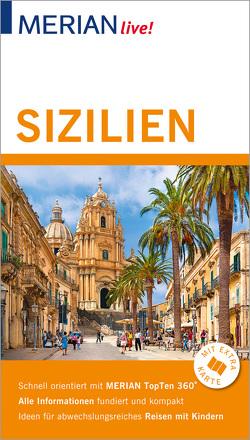 MERIAN live! Reiseführer Sizilien Liparische Inseln von Nestmeyer,  Ralf