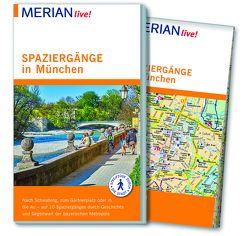 MERIAN live! Reiseführer Spaziergänge in München von Kotteder,  Franz