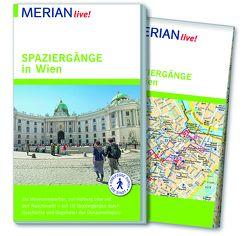 MERIAN live! Reiseführer Spaziergänge in Wien von Buchas,  Gabriele