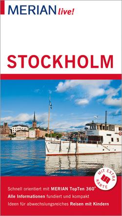 MERIAN live! Reiseführer Stockholm von Rüegger,  Charlotta, Wolandt,  Holger