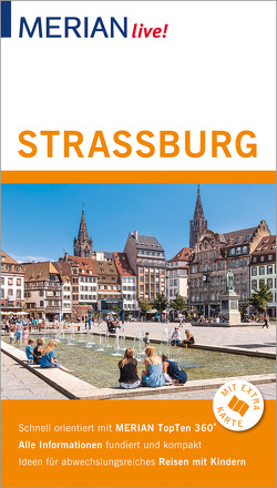 MERIAN live! Reiseführer Straßburg von Knopf,  Volker, Nückles,  Bärbel