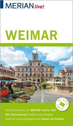 MERIAN live! Reiseführer Weimar von Lammert,  Andrea