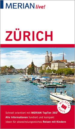 MERIAN live! Reiseführer Zürich von Gerberding,  Eva