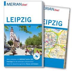 MERIAN live! Reiseführer Leipzig von Bloß,  Susanna