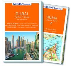 MERIAN momente Reiseführer Dubai Emirate Oman von Müller-Wöbcke,  Birgit