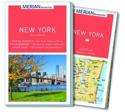 MERIAN momente Reiseführer New York von Uthmann,  Jörg von