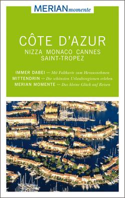 MERIAN momente Reiseführer Côte d'Azur von Buddée,  Gisela