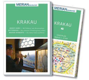 MERIAN momente Reiseführer Krakau von Gawin,  Izabella