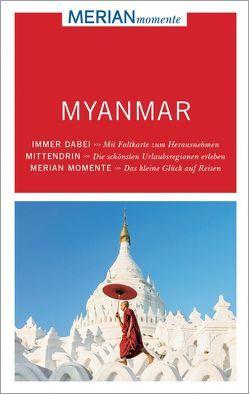 MERIAN momente Reiseführer Myanmar von Barkemeier,  Thomas