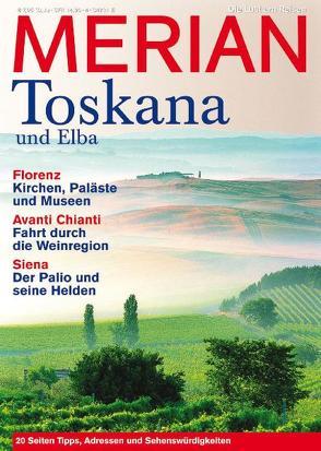 MERIAN Toskana und Elba von Jahreszeiten Verlag