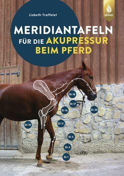Meridiantafeln für die Akupressur beim Pferd von Traffelet,  Lisbeth