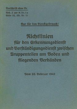 Merkblatt 18/11 – Richtlinien für den Erkennungsdienst und Verständigungsdienst zwischen Truppenteilen am Boden und fliegenden Verbänden von Heise,  Thomas