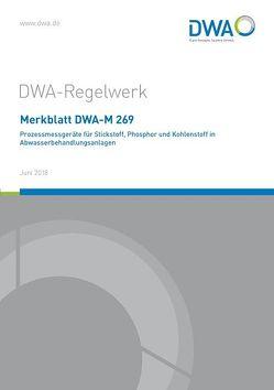 Merkblatt DWA-M 269 Prozessmessgeräte für Stickstoff, Phosphor und Kohlenstoff in Abwasserbehandlungsanlagen
