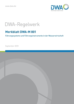 Merkblatt DWA-M 801 Führungssysteme und Führungsinstrumente in der Wasserwirtschaft