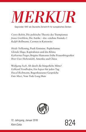 MERKUR Deutsche Zeitschrift für europäisches Denken – 2018-01 von Demand,  Christian