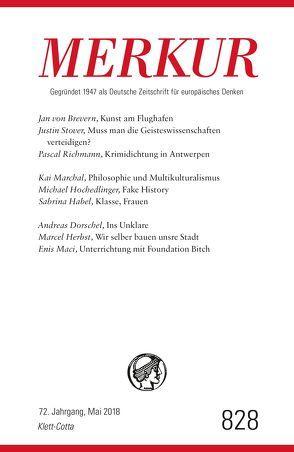 MERKUR Deutsche Zeitschrift für europäisches Denken – 2018-05 von Demand,  Christian