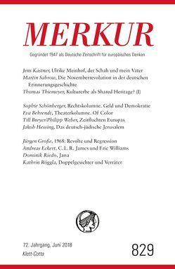 MERKUR Deutsche Zeitschrift für europäisches Denken – 2018-06 von Demand,  Christian