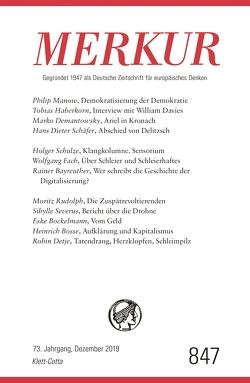 MERKUR Gegründet 1947 als Deutsche Zeitschrift für europäisches Denken – 2019-12 von Demand,  Christian