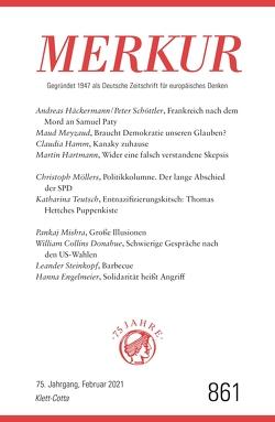 MERKUR Gegründet 1947 als Deutsche Zeitschrift für europäisches Denken – 2021-02 von Demand,  Christian