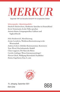 MERKUR Gegründet 1947 als Deutsche Zeitschrift für europäisches Denken – 2021-09 von Demand,  Christian