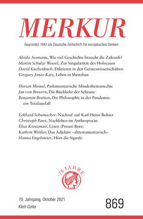 MERKUR Gegründet 1947 als Deutsche Zeitschrift für europäisches Denken – 2021-10 von Demand,  Christian