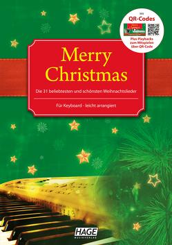 Merry Christmas für Keyboard von HAGE Musikverlag